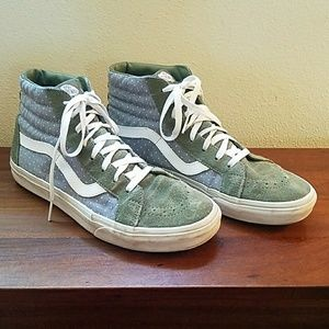 Vans Shoes - Vans Chambray Dot Old Skool Sk8 Hi - size 11